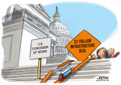 2 Trillion Infrastructure Deal Lacks Funding by RJ Matson
