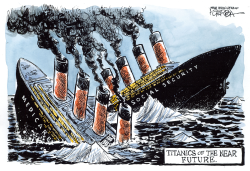 Entitlements of Titanic Proportions by Jeff Koterba