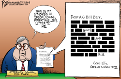 Mueller's letter to Barr by Bruce Plante