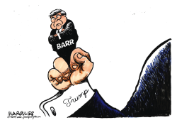 Barr and Congress by Jimmy Margulies