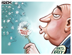 Measles in the Wind by Steve Sack