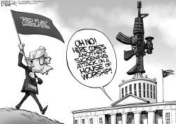 LOCAL OH DeWine Red Flag by Nate Beeler