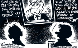 Lying Liars by Milt Priggee