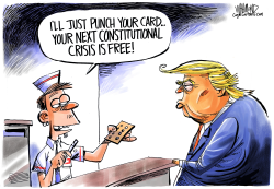 Punch Your Card by Dave Whamond