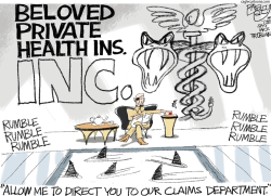 Medicare for All by Pat Bagley
