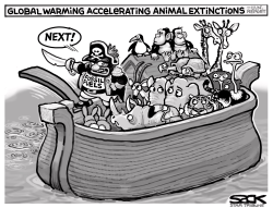 Extinction Cruise by Steve Sack