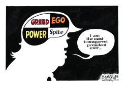Trump Transparency by Jimmy Margulies
