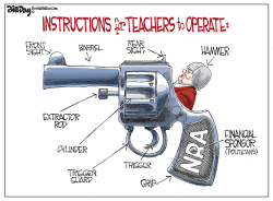 Teacher Gun Instructions FLORIDA by Bill Day