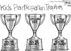 Participation Trophy by Pat Bagley
