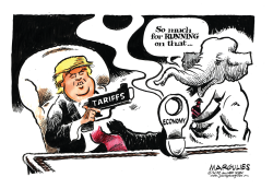Trade war by Jimmy Margulies