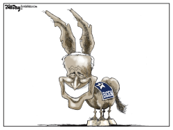 Biden Donkey Ears by Bill Day