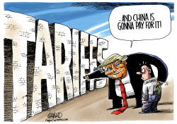 It Will Be Tariffic by Dave Whamond