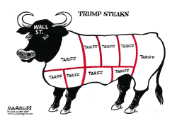 Trump Steaks by Jimmy Margulies