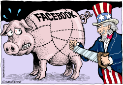 Facebook Breakup by Wolverton