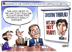 Justin Trudeau is Just Not Ready by Dave Whamond