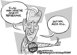 Biden by David Fitzsimmons