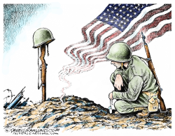 Valor and Sacrifice by Dave Granlund