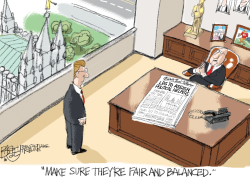 Mormon Commissars by Pat Bagley