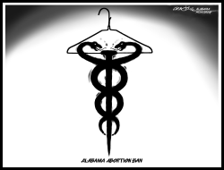 Alabama Abortion Ban by J.D. Crowe