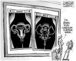GOP and abortion bans by John Cole