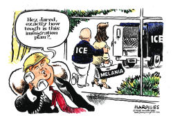 Trump Immigration Plan by Jimmy Margulies
