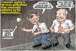 Domestic Spying  by Wolverton