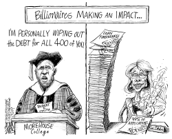 Student loan forgiveness by Adam Zyglis