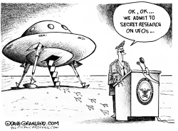 Pentagon and UFO research by Dave Granlund