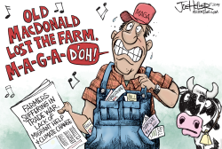 Farm Woes by Joe Heller