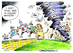 US Tornadoes spring 2019 by Dave Granlund