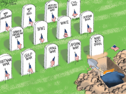 Trump's War by Pat Bagley