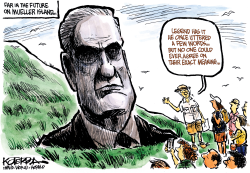 On Mueller Island by Jeff Koterba