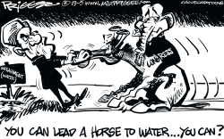 Impeachment water by Milt Priggee