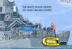 USS John McCain Hidden by Jeff Darcy