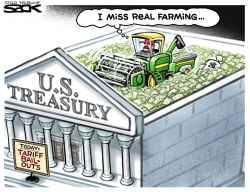 Farm Bailout by Steve Sack