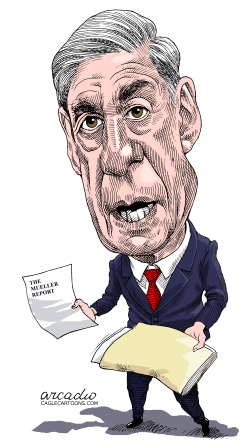 Robert Mueller EEUU by Arcadio Esquivel