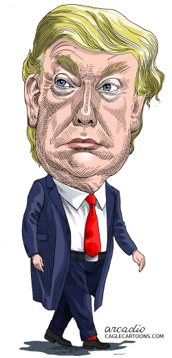 Donald Trump President of the United States by Arcadio Esquivel