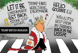 Trump Great Britain visit by Jeff Darcy