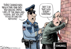Parkland Arrest by Joe Heller