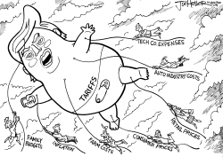 Trariffs by Joe Heller