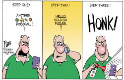 Robocalls Step One by Bruce Plante
