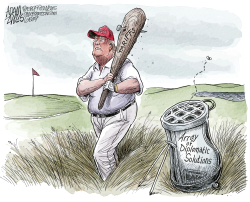 Trump's club by Adam Zyglis