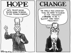 Biden's Hope and Change by Kevin Siers