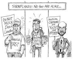 Snowflakes by Adam Zyglis