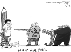 Killing Cartoons by Pat Bagley