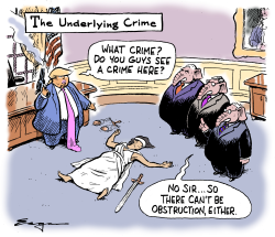 The Underlying Crime by Tim Eagan