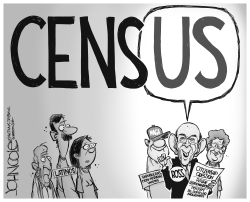 Census citizenship question by John Cole