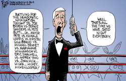 2020 Democratic Debates by Bruce Plante
