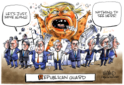 Republican Guard by Dave Whamond