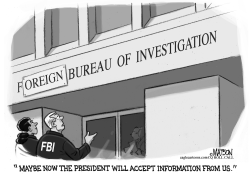 FBI Foreign Bureau of Investigation by RJ Matson